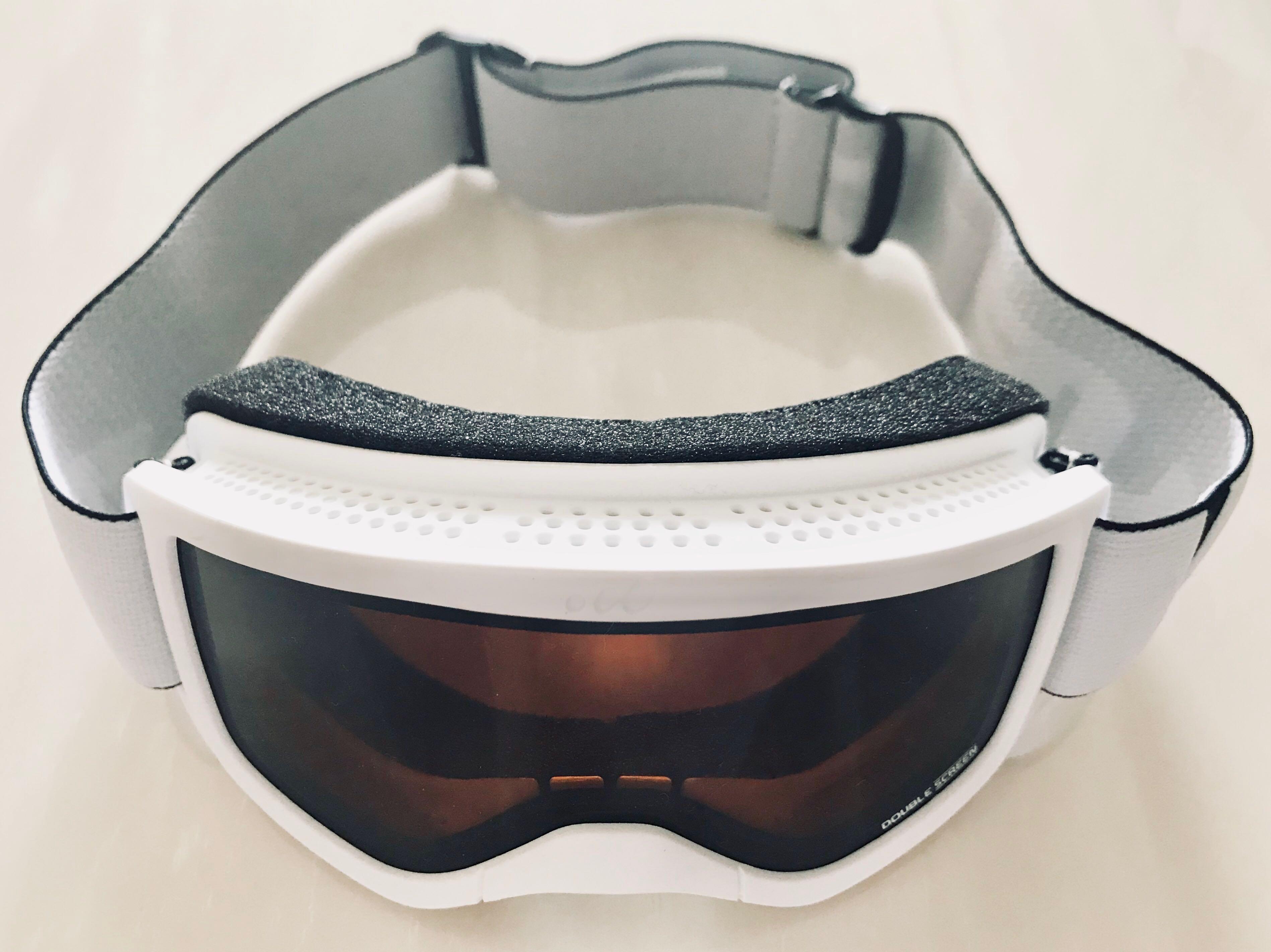 60e10b340dc3 Wedze Ski   Snowboard Goggles (White)