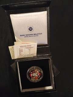 Proof Coin Asean 2015 BNM