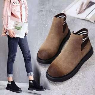 (35~40) 2018 autumn and winter thick-soled Martin boots women's boots British wild women's boots