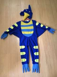 Pterodactyl Kids Costume 2-4 yrs old