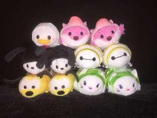 HKDL Hong Kong Disneyland Tsum Tsum 點心系列 Chesire Cat Donald Oswald Pluto Baymax Marie