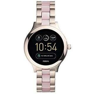 Fossil Gen 3 Smartwatch - Q Venture Pink Stainless Steel and Acetate
