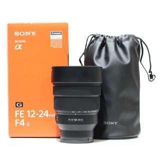 Sony FE 12-24mm F4 G Lens (Still under full Warranty)