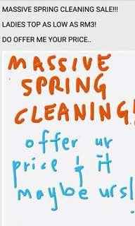 Massive Spring Cleaning!!!