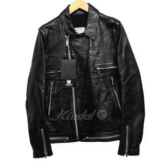 Undercover leather Rider Jacket 2017SS Lewis Scott