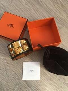 Hermes CDC bracelet hitam