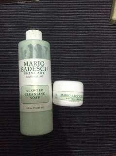 Mario badescu seaweed cleansing soap & drying cream