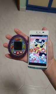 Tamagotchi 4U & NFC Phone