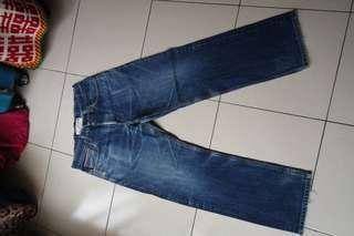 🚚 (降價🔽) 34腰日本製EDWIN牛仔褲~195