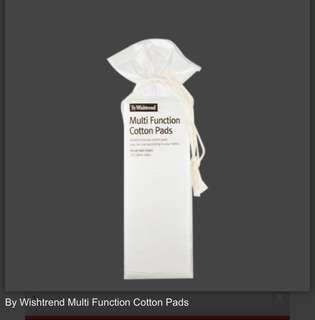 [Ready Stocks] - By Wishtrend Multi Function Cotton Pads 70pcs