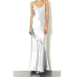 H&M Metallic Evening Gown