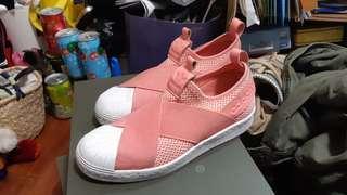 🚚 Adidas 三葉繃帶鞋 乾燥玫瑰色