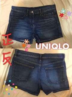 🚚 UNIQLO牛仔短褲