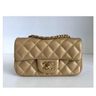 Authentic Chanel Extra Mini Bag