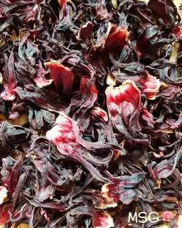FRESHLY PICKED AND DRIED ROSELLE (Pack of 20g)