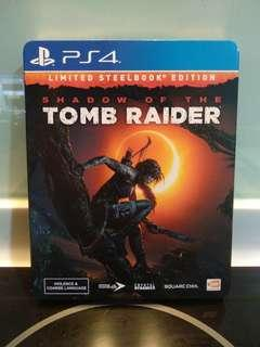 Shadow Of The Tomb Raider - Limited Steelbook Edition (PS4)(RESERVED)