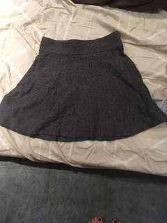Women's grey cotton skirt size small