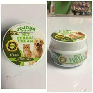 Jojoba Essence Pet Herbal Cream 50g