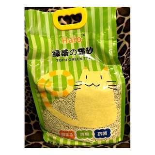 Halo 綠茶豆腐砂18L