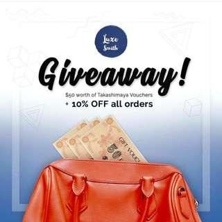 Luxe Smith Giveaway!!