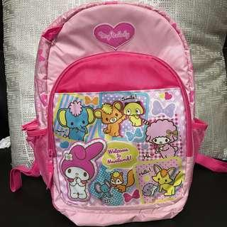 Super lightweight Sanrio Melody Backpack for pre school kids