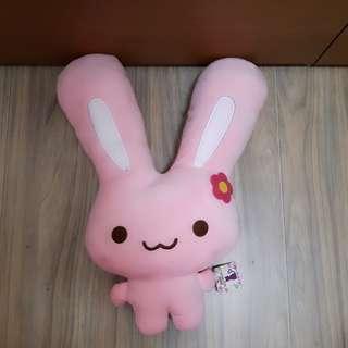 🚚 大耳粉兔娃娃
