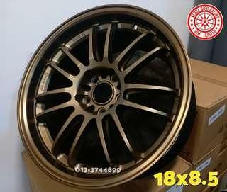Sport Rim Ce28 Re30 17 18 inci Ori Thailand AutoOptions For Honda Fd Fb Fc Stream Lancer Suprima Exora Mag Blue Bronze