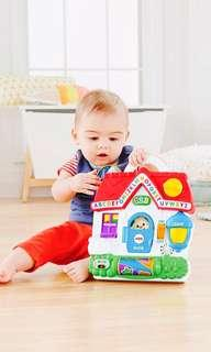 ~Ready Stocked~ Fisher-Price Puppy's Busy Activity Home Toy Playset