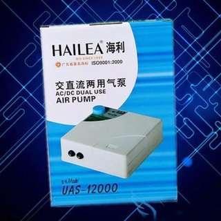 SALES!!! Hailea UAS-12000 ACDC Air Pump For Aquarium Fish Tank