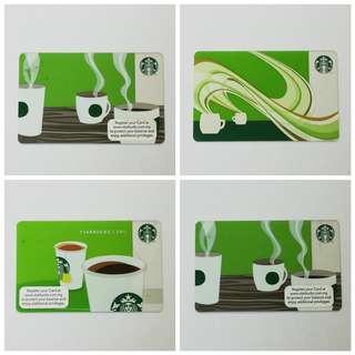 Starbucks Card Collection #3x100
