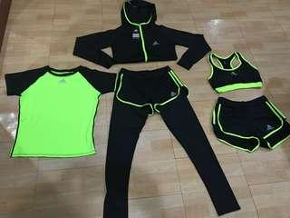Women's Adidas Sports Wear(Last Price 2,200) Available Color Pink,Black, YellowGreen