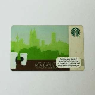 Starbucks Card Limited Edition #3x100