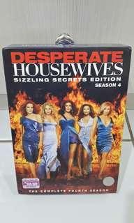 Dvd Original Judul DESPERATE HOUSEWIVES Season 4