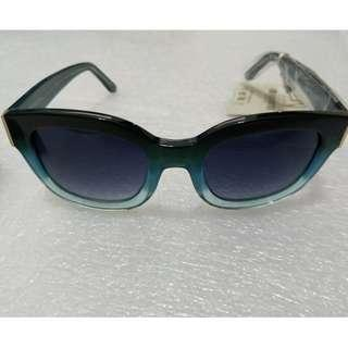 Uterque (Sister label to Zara )Sea Blue Sun glasses (Category 3 100 uv protection)