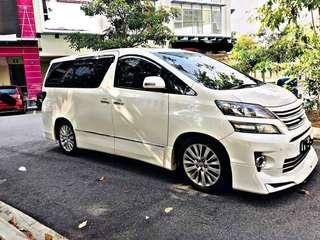 Sambung Bayar Toyota Vellfire 3.5Zg A 2012/2015