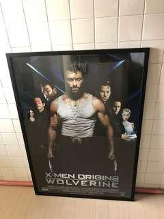 Marvel XMen Origins Wolverine Movie poster