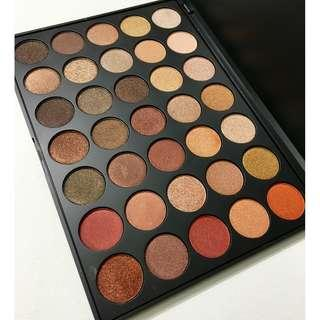Morphe 35OS 35 Color Shimmer Nature Glow Eyeshadow Palette