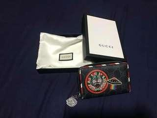 GUCCI patchwork coin purse