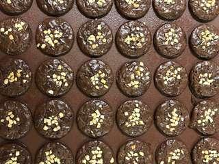 60 pcs Brownies Kedut Cookies