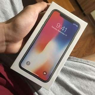 iPhone X (Brand New/Pure Sealed)