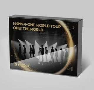[DVD] WANNA ONE WORLD TOUR ONE:THE WORLD CONCERT IN SEOUL