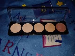 Make up forever mufe camouflage palette