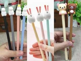 moonmin / rilakkuma / rabbit figuring pen