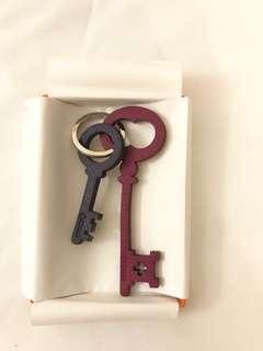 ✨Hermes 4 色 charm/鎖匙扣