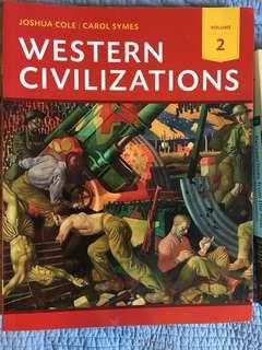 Western civilizations volume 2 HIS