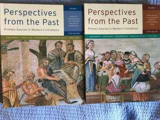 Perspectives from the past volume 1&2 5th Ed HIS