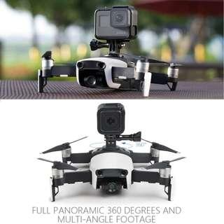 🚚 PGYTECH Connector Action Camera GoPro Holder Adapter for DJI MAVIC AIR Drone Accessories