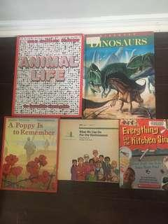 Elementary/middle school books