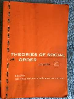Theories of social order 2nd Ed