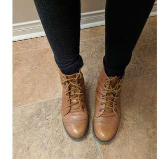 Size 6 Military Boots Genuine Leather
